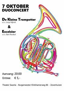 Duoconcert 7 oktober  DKT & Excelsior